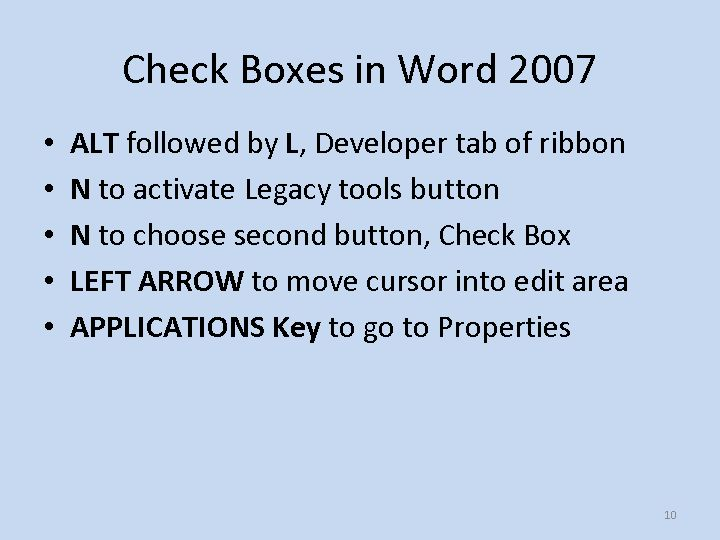 how to make boxes in word 2007
